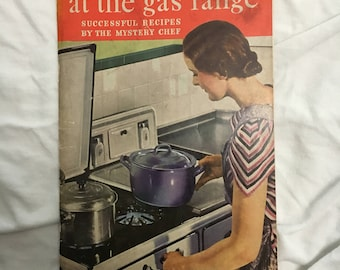 Cooking with Gas! Vintage Cookbook