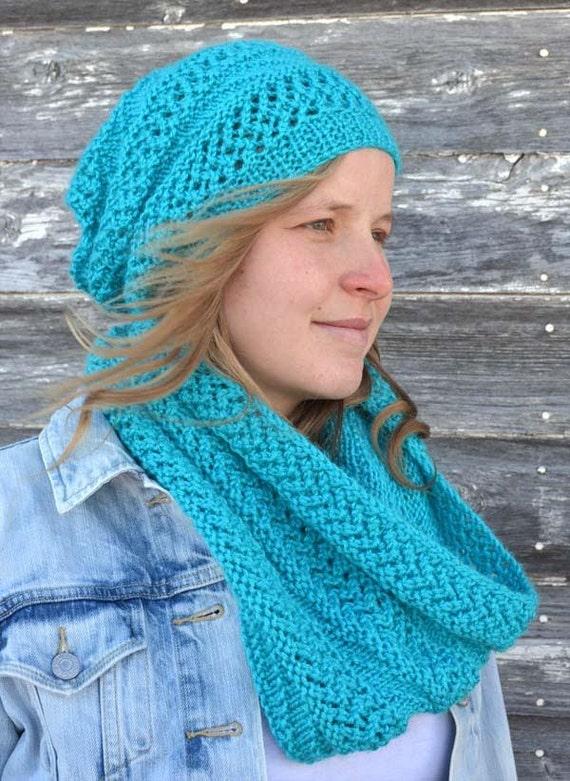 Knitting Pattern Hat And Scarf Knit Pattern Hat Knit Pattern