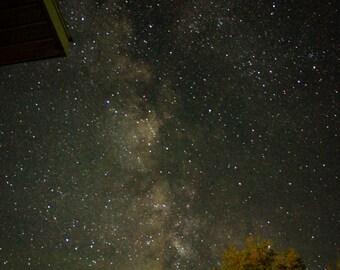 Milky Way Print, Nature Photography, Nature Prints, Night Sky Photography, Manitoba Art, Manitoba Photography