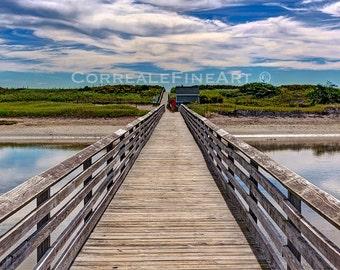 Footbridge Beach Ogunquit Maine