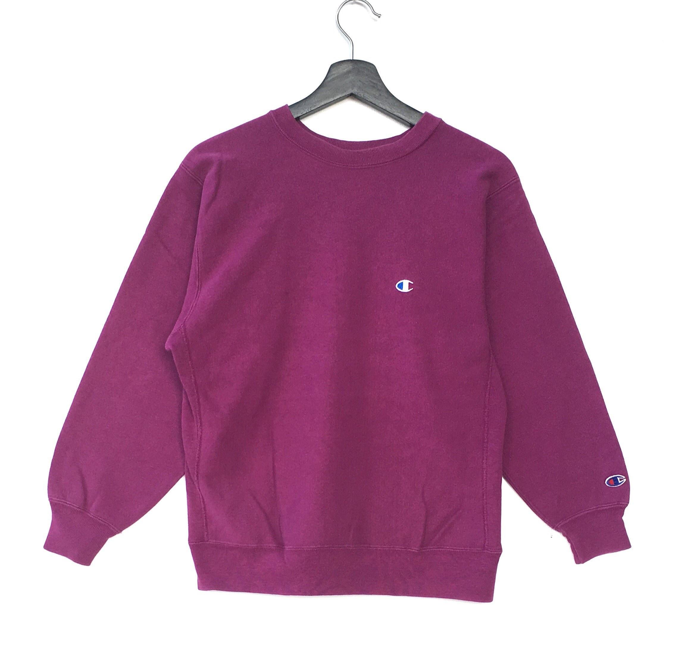 Rare!! Vintage PAPAS mademoiselle Non Non Sport Spellout Men Clothing Sweatshirt Pullover Jumper Light pink Colour Fits Medium Size WE7bVD