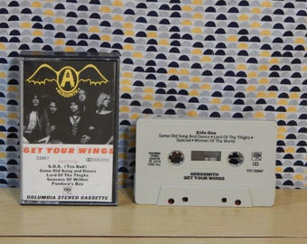 Aerosmith - Get Your Wings - Cassette tape