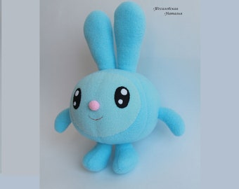 Hare doll soft toy handmade, Gift, Gift For baby