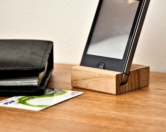 Wooden iPhone holder PH001
