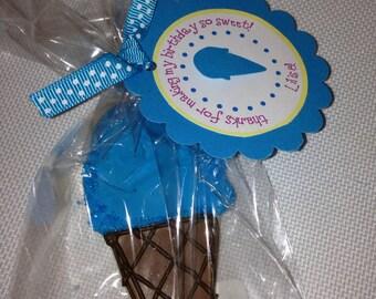 Custom Ice Cream Cookies