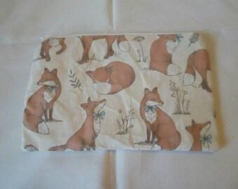 Fox small cosmetic bag