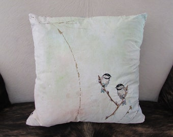 Hand painted Accent pillow Art: P590