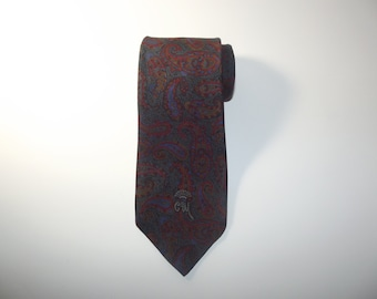 Vintage COUNTESS MARA Paisley Tie / All Silk Necktie / Trad / Wedding / Gift for Him