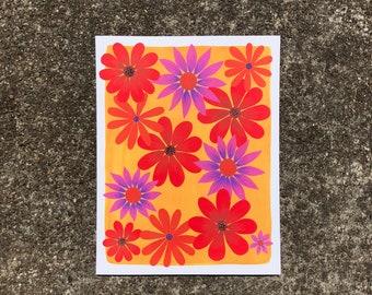 Flower Print No. 2