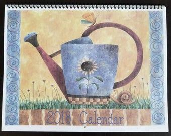 2018 Calendar Debbie Mumm Whimsical Garden