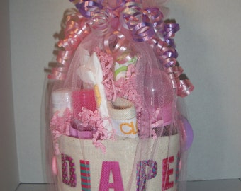 Baby Girl Diaper Doo-ty Tool Belt Baby Shower Gift