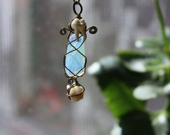One of a kind Opalite Necklace