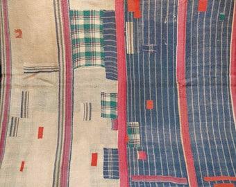 Kantha Quilt:Best quality patchwork Kantha Quilt, Vintage Ralli quilt, Bohemian bedding, Gypsy Tribal bedding, Bohemian carpet, Beach sprea