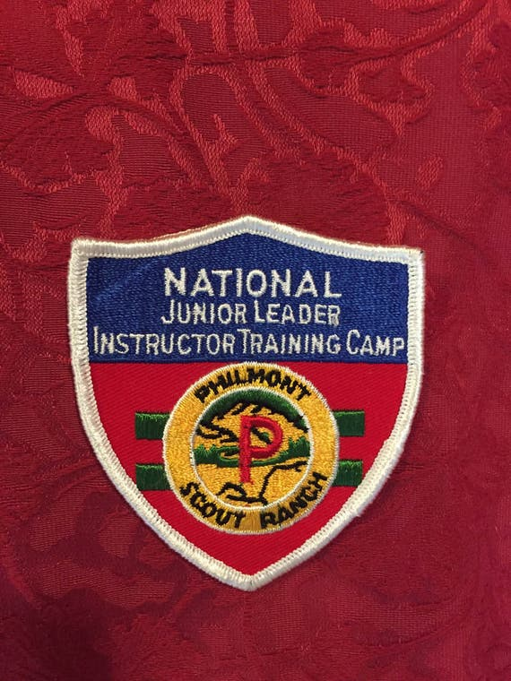 FREE SHIPPING - Boy Scout - National Junior Leader - Instructor Training Camp- Philmont Scout Ranch
