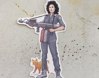 Ripley ALIEN Waterproof STICKER!