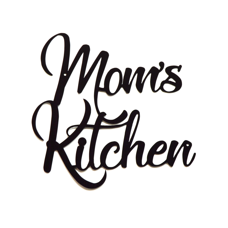 Mom\'s Kitchen Wall Art