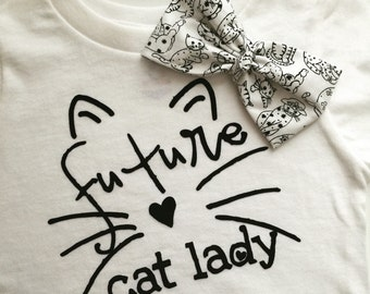 Future cat lady infant/toddler t-shirt
