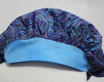 Surgical Tech scrub cap, scrub cap, scrub hat, scrub caps, nurse, nurse gift, graduation, gift for her, gift for nurse, Christmas gift, blue