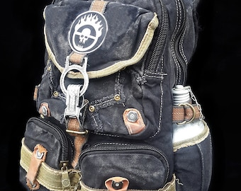 War Boy Fury Road backpack post-apocalyptic mad max black