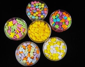 Mega Spring/Easter Sprinkle Set, Easter Sprinkles,  Cupcake Sprinkles, Spring Cupcake Sprinkles, Cake Pop Sprinkles, Easter Candy Sprinkles
