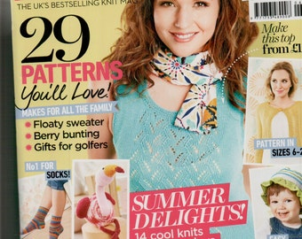 Let's Knit Knitting Magazine Issue 93 June 2015
