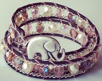 Elephant Wrap Bracelet / Choker