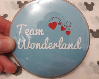Wonderland Button Badge