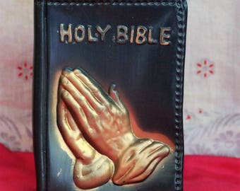 Vintage New Plastic Holy Bible Bank