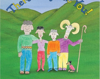 2 for 1 SALE  There's Only One You! Children's Book, Written and Illustrated by Bradley Jay Clark
