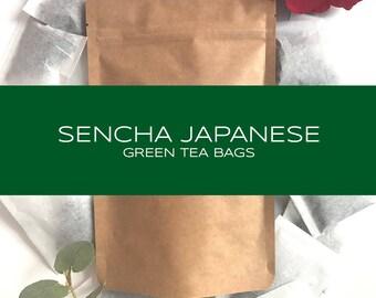 Sencha Japanese Green Tea Bags