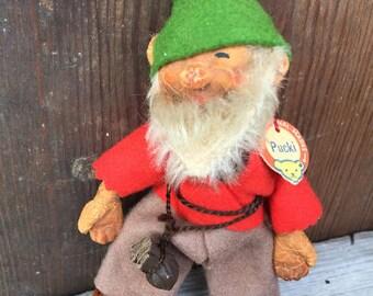 "Steiff Gnome Dwarf, ""Pucki"""