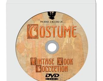 HISTORY of COSTUME 108 Rare Vintage Books, pdf  on DVD-Rom Dress, Fashion History, Textiles Design, Vintage Books, Vintage Images