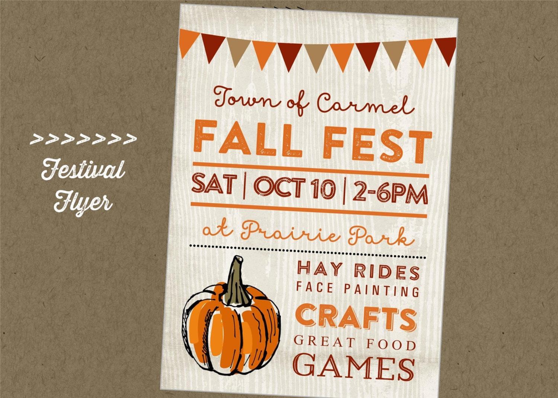 Fall Carnival Flyer