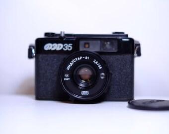 Vintage FED 35 Soviet Rangefinder Camera - Rare Item