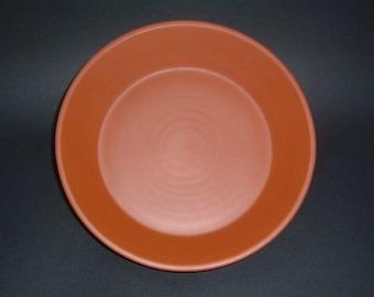 Pie Plate / handmade pottery pie plate / deep dish pie plate / red clay pie plate