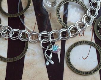 Infertility, SIDS Awareness Charm Bracelet