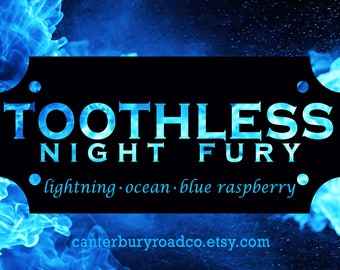 Soy Candle | Toothless | Night Fury | HTTYD |  Book Lover Gift | Book Candle | Dragon Candle | Bookish Gift | Canterbury Road Co