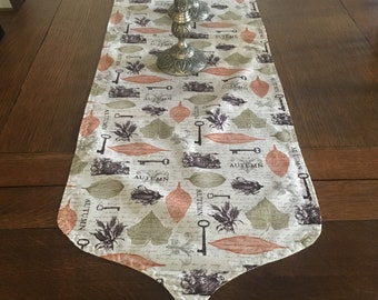 Autumn Themed Table Runner