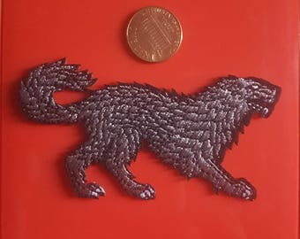 Choose Dire Wolf Stark, Dragon Targaryen, or Stranger Things Patch