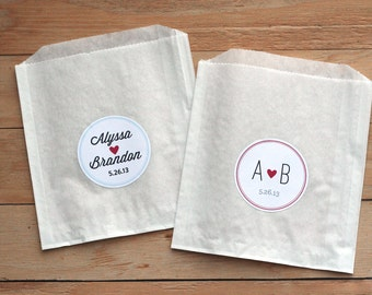 Favor Bags For Wedding Candy Bar ✓ Baik Bag