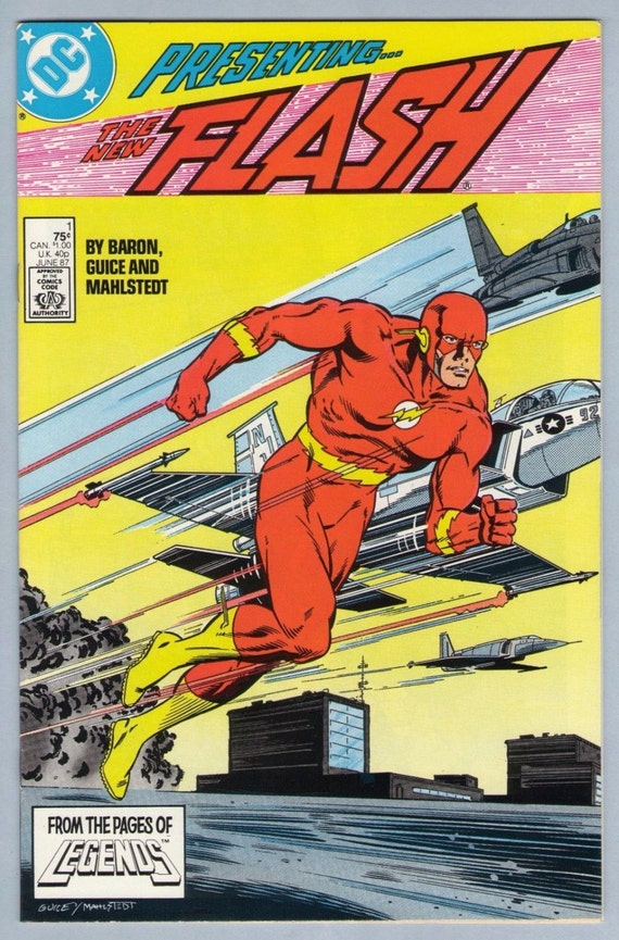 Flash V2 1 Jun 1987 NM- (9.2)