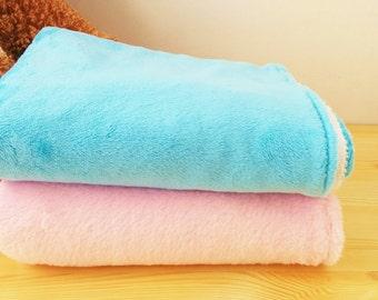 Baby blanket, Receiving Blanket, it's a boy, it's a girl, plush blanket, soft blanket, baby blue blanket, baby pink blanket, baby warmer