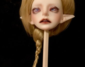 OOAK 1/4 BJD elf wig