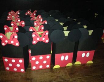 Minnie y Mickey Mouse bolsas a favor