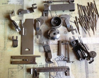Antique New Home Sewing Machine Parts and Needles