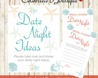 Beach bridal shower etsy beach bridal shower instant download date night ideas suggest a date beach theme bridal shower games filmwisefo Choice Image