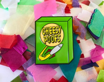 Cheesy Poofs Pin