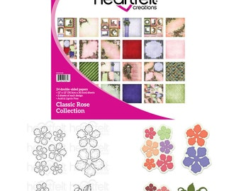 Heartfelt Creations Classic Rose Creative Essentials Bundle HCCE1-616
