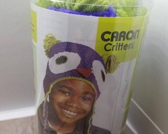 Caron Critters owl hat kit