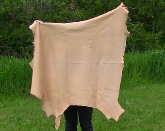 Reindeer Leather - Veg Tanned, Natural Color (1314-V2NA-G03)